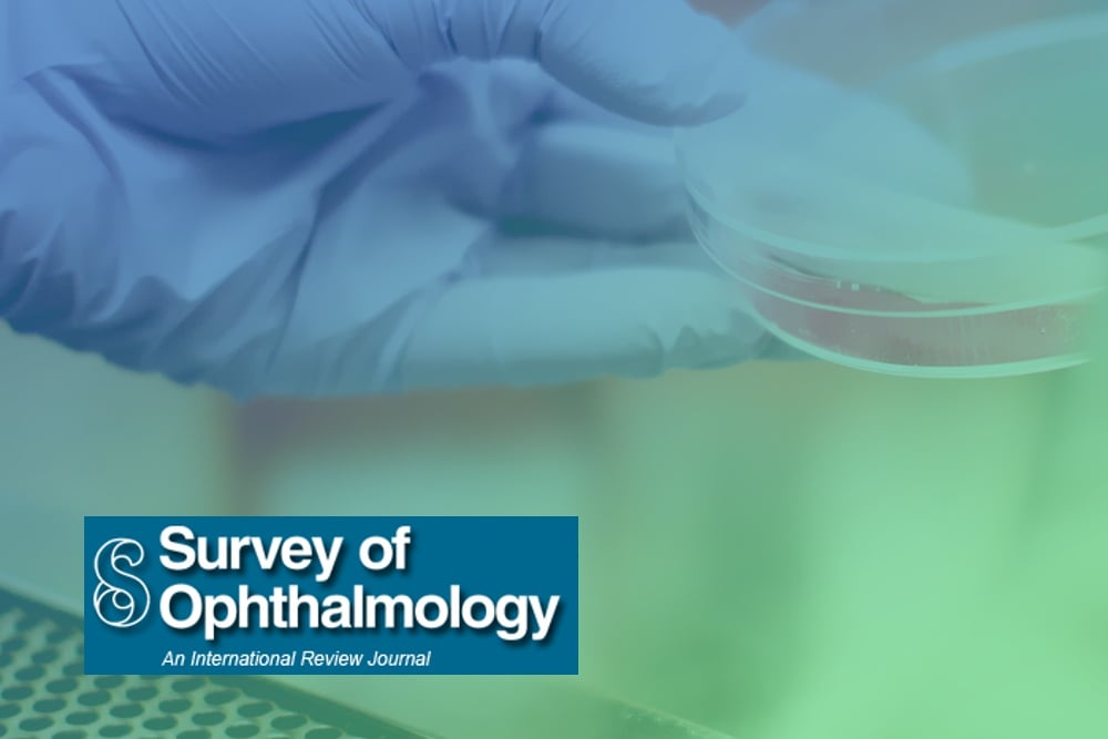 FRRB - botao Survey Ophtalmology logo